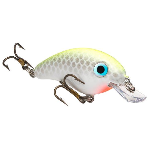 Chart White Strike King Pro Model Bitsy Minnow Crankbait