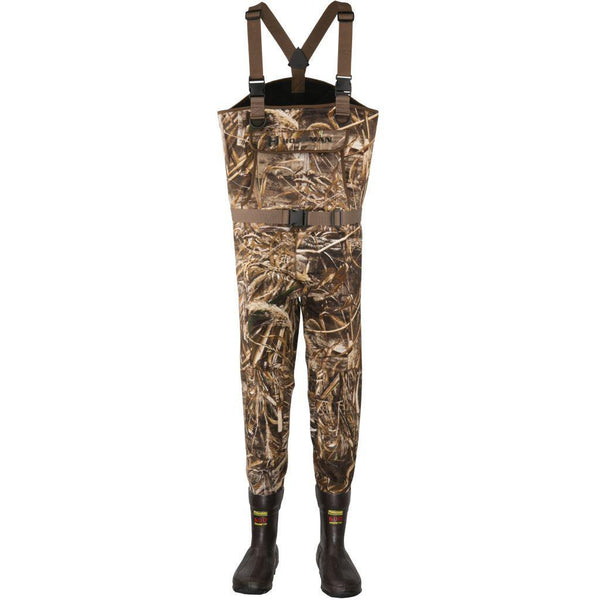 Hodgman Brighton Neoprene Bootfoot Waders - Natural Sports - The Fishing Store