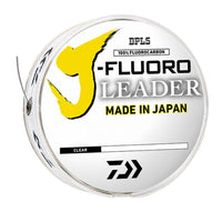 Daiwa J-Fluoro Leader (50 Yards) - Natural Sports - The Fishing Store