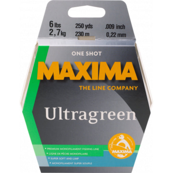 Maxima Ultragreen  One Shot Monofilament