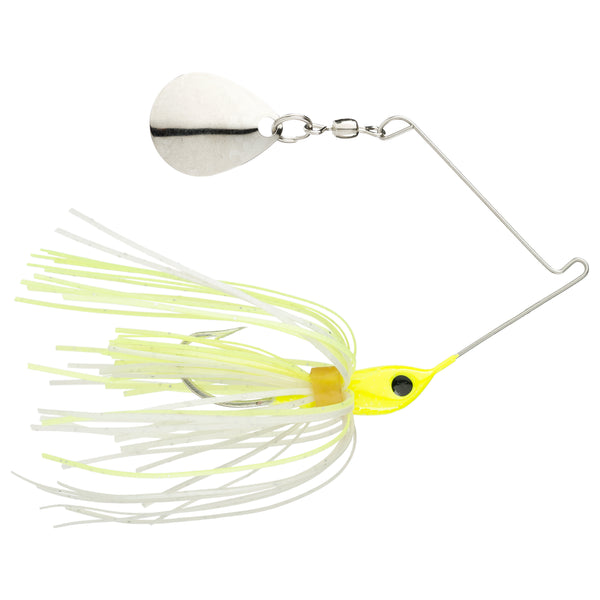 Chartreuse White Strike King Micro-King Spinnerbait