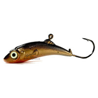 Meegs Ice Jig Black Gold | Natural Sports
