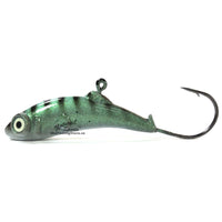 Meegs Ice Jig Emerald Green | Natural Sports