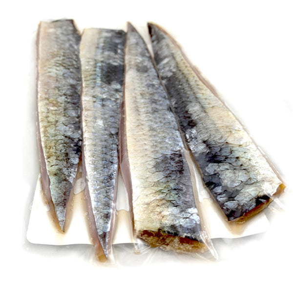 The Big One Cut Bait Thick Cut Alewife Strips - Natural