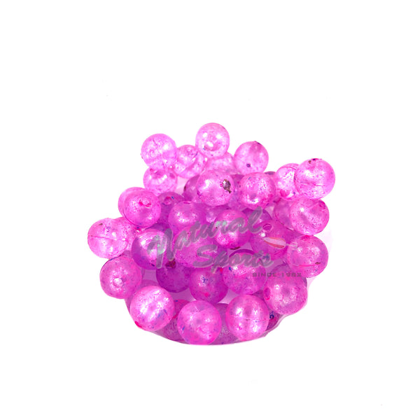 Mad River Clear UV Steelie Beads