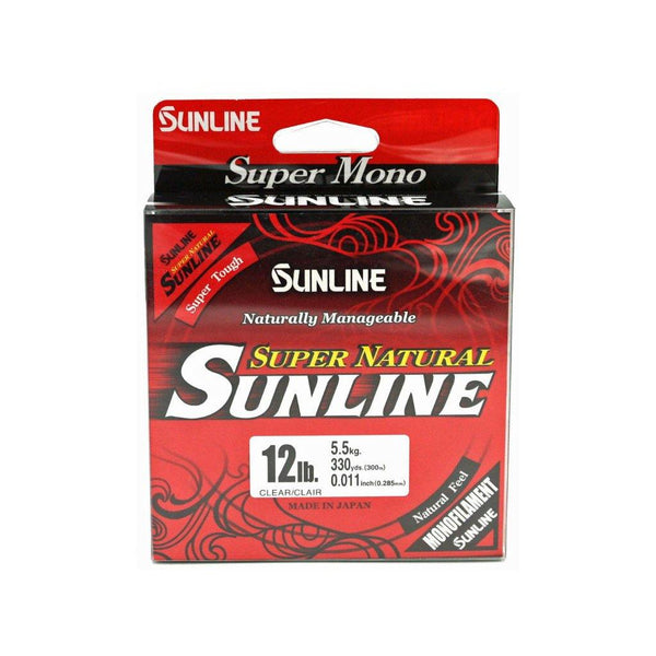 Sunline Super Natural Monofilament - Natural Sports - The Fishing Store