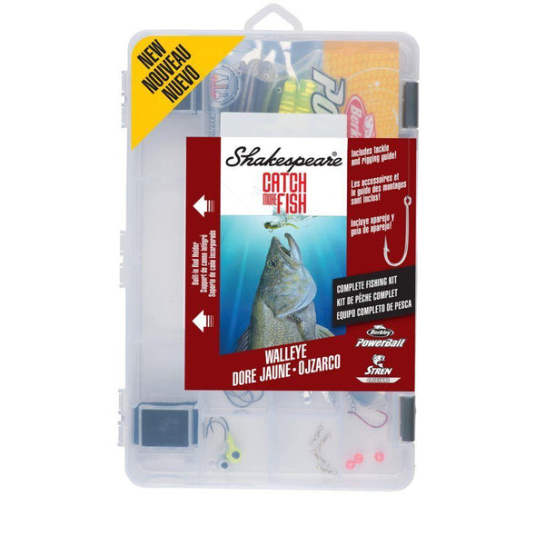 Shakespeare Catch More Fish Walleye Kit