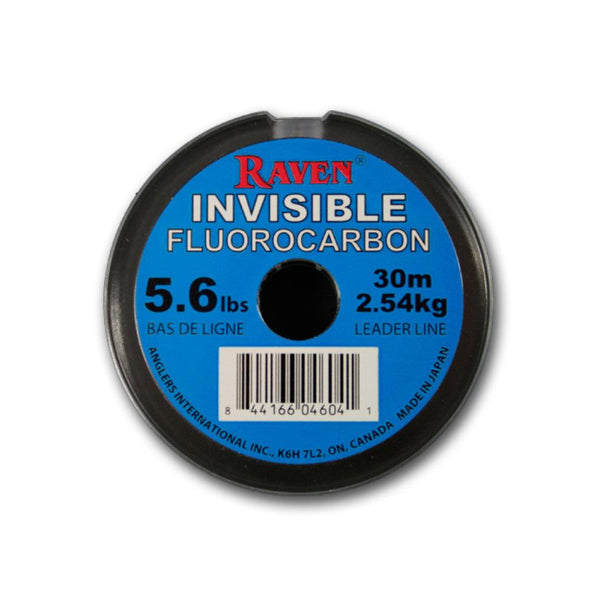 Raven Invisible Fluorocarbon Leader Line
