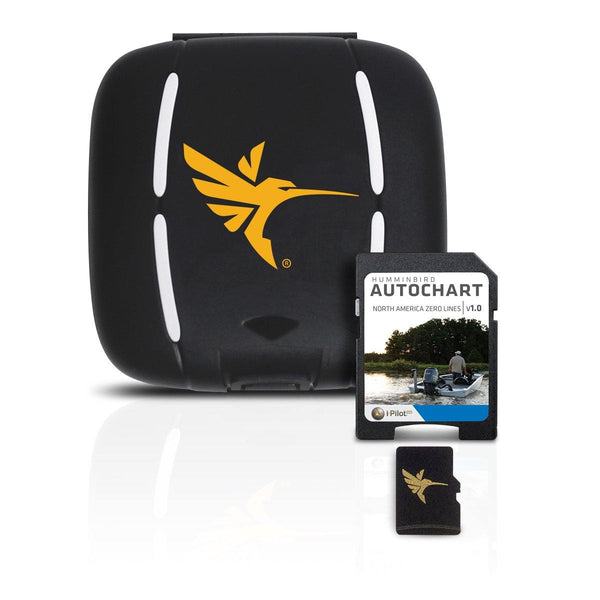 Humminbird AutoChart Zero Lines SD Card Noth America - Natural Sports - The Fishing Store