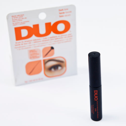 Latex-free lash adhesive - dark