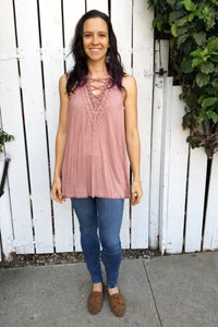 Lily Lace Cami Tunic