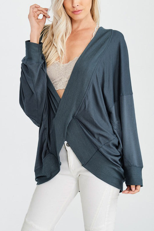 Lena Reversible Cross Over Top