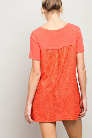 Calabasas Lace Tunic - Posse Exclusive Deal - 40% off