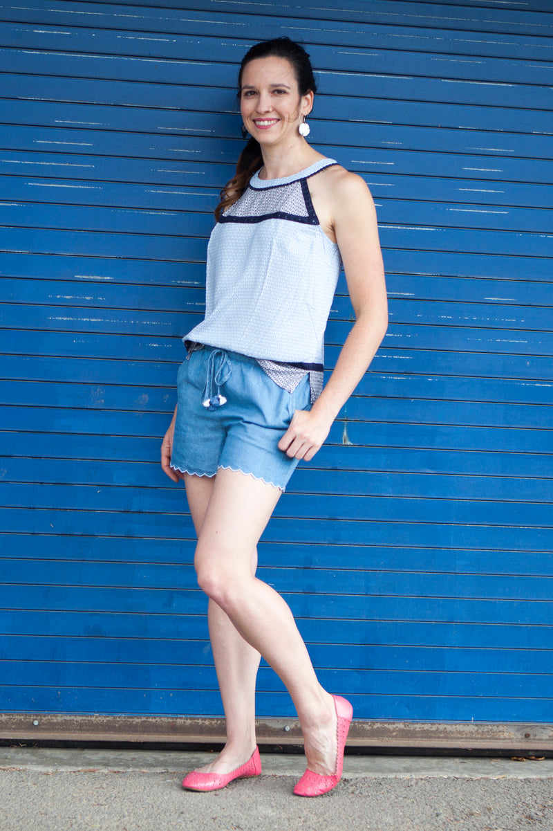 Shades of Blue Tank Top