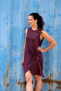 Talia Faux Wrap Dress
