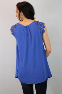 Beverly Lace Sleeve Top
