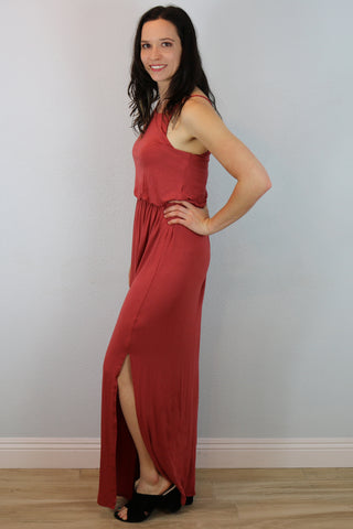 Laguna Maxi Dress with Side Slit