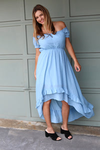 Lorelai Off-the-Shoulder Dress
