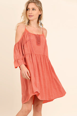 Ellie Cold Shoulder Dress