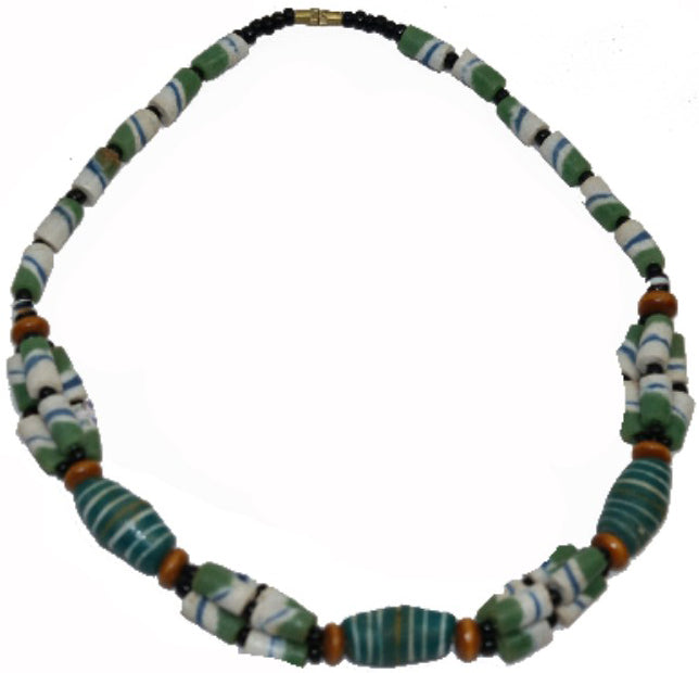 Beaded Necklace (green)