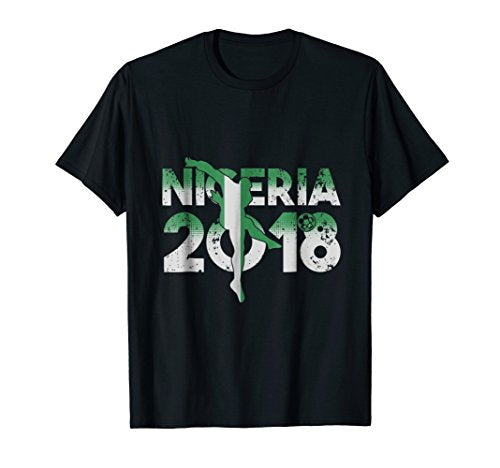 Nigerian Soccer Team Flag 2018 T-Shirt