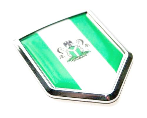 Nigeria Car Chrome Decal
