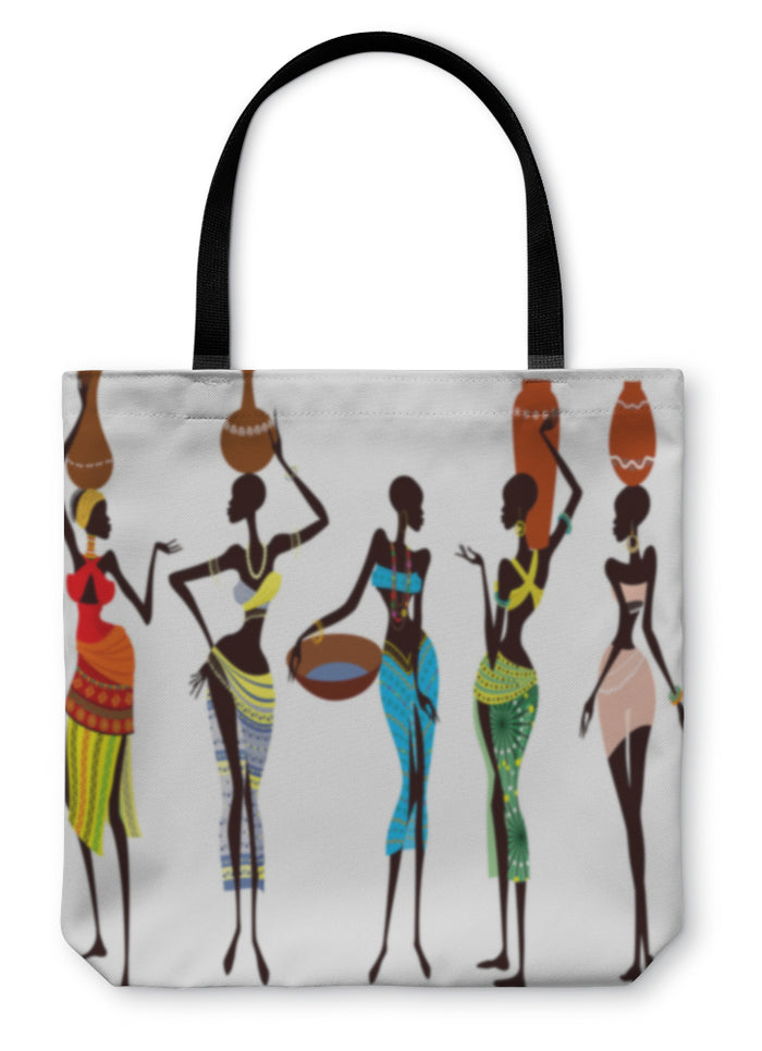 Tote Bag, Beautiful African Women