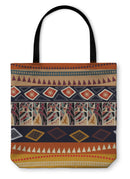 Tote Bag, With African Animals