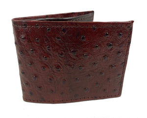 Leather Wallet (Brown Dotted)