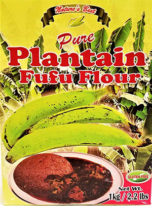 Plantain Fufu Flour - Nature's Best