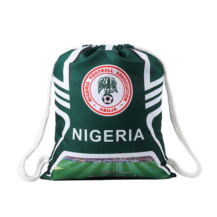 Nigeria Drawstring Bag