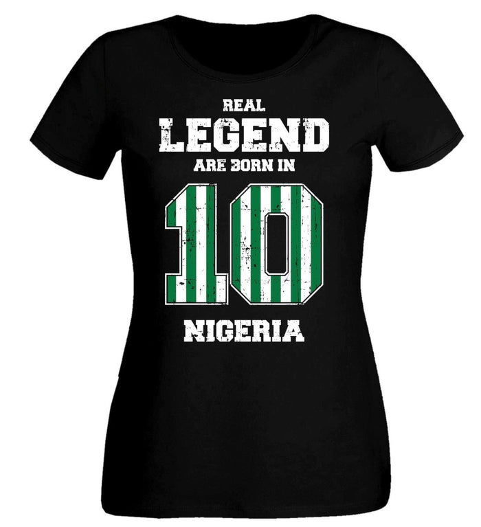 Real Legend #10 Women Football T-Shirt