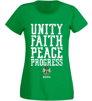Unity & Faith, Peace & Progress T-Shirt