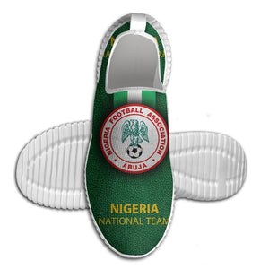 Nigeria Football Team Emblems Running/Walking Shoes