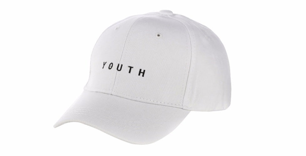 White Youth Cap - TheLittlewing