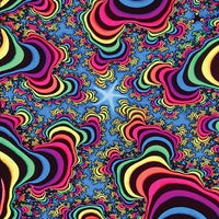 DP019A Rainbow valley fractal Products