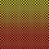 DP029F Op-art wobbly fire Products