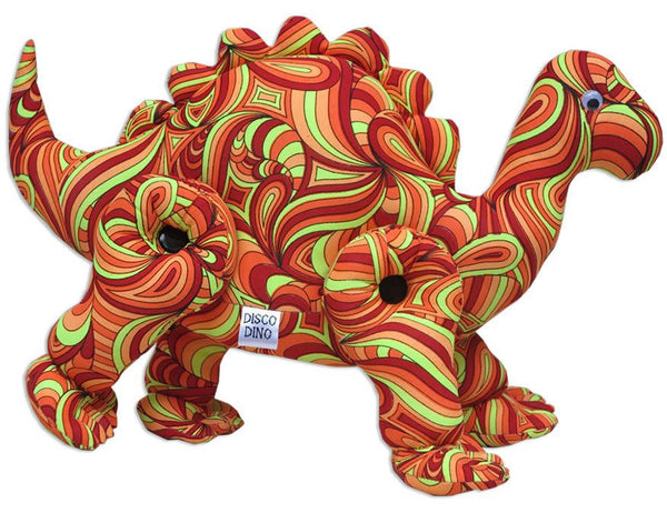 Disco Dino : Fire Splash - Party Animals (Soft toys) - Space Tribe