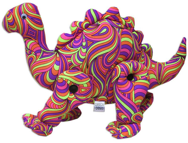 Disco Dino : Candy Splash - Party Animals (Soft toys) - Space Tribe