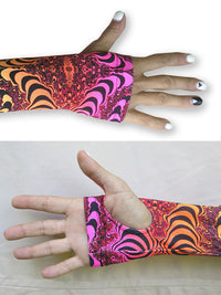 Arm Sleeve  : Fire Fractal - Accessories - Arm Sleeves - Space Tribe