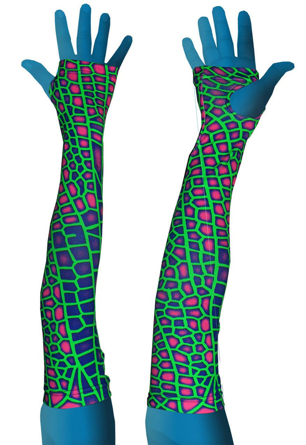 Arm Sleeve  : Acid Dragonfly - Accessories - Arm Sleeves - Space Tribe