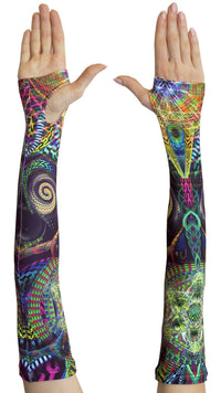 Arm Sleeve  : Primordial Presence - Arm Sleeves - Space Tribe