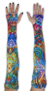 Arm Sleeve  : Holographic Altar - Accessories - Arm Sleeves - Space Tribe