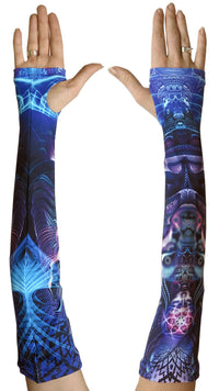 Arm Sleeve  : Violet Foxy Lady - Accessories - Arm Sleeves - Space Tribe