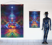 Digi-print : Quintessence - Digi-print Art Canvases - Space Tribe
