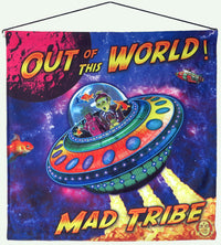 Sublime Wall-hanging : Out of this World - Mad Tribe - Space Tribe
