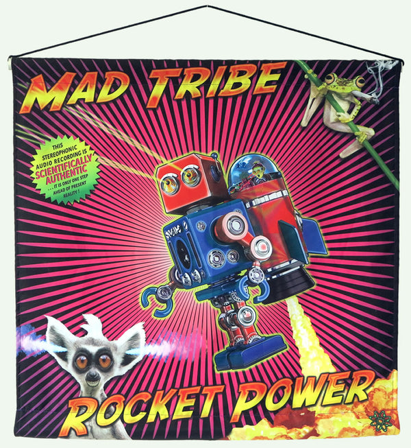 Sublime Wall-hanging : Rocket Power - Mad Tribe - Space Tribe