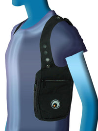 Shoulder Holster : Black - Bags + Pouches - Space Tribe