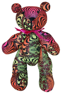 Teddy Bear : Rainbow Fractal - Accessories - Party Animals (Soft toys) - Space Tribe