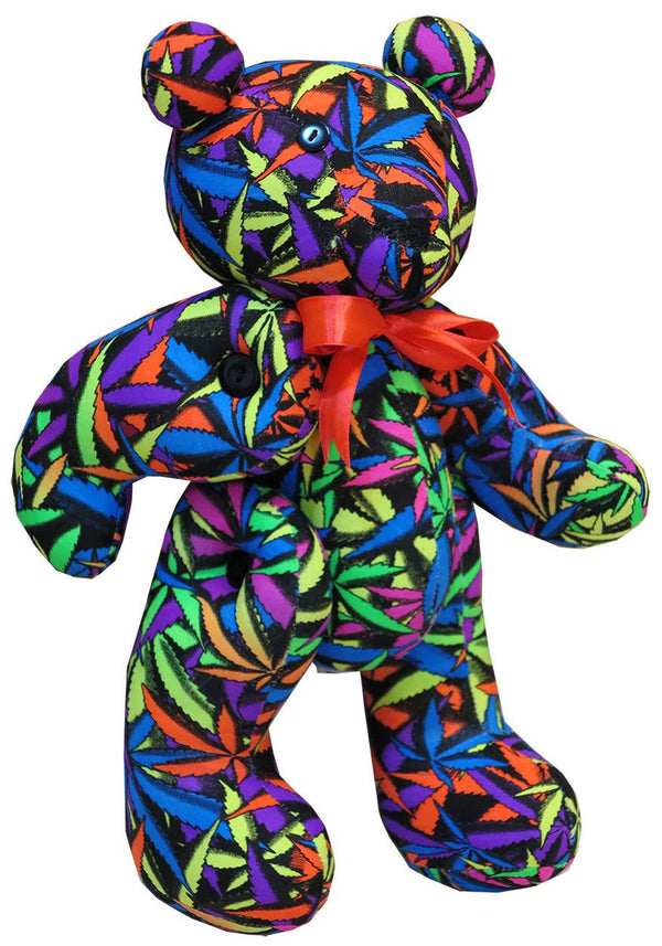 Teddy Bear : Juicy Fruit Weed - Accessories - Party Animals (Soft toys) - Space Tribe